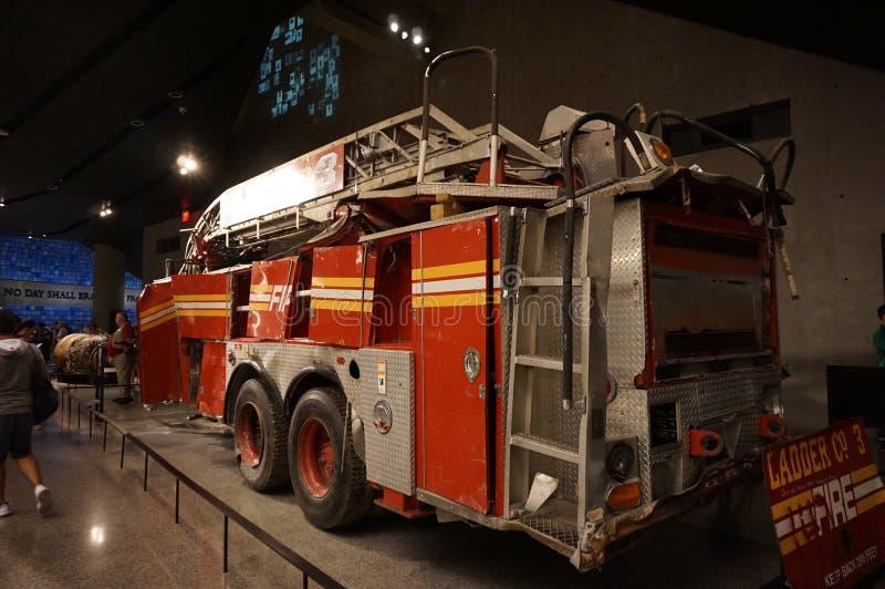 9 11 pomnika muzeum Nowy Jork obrazy royalty free