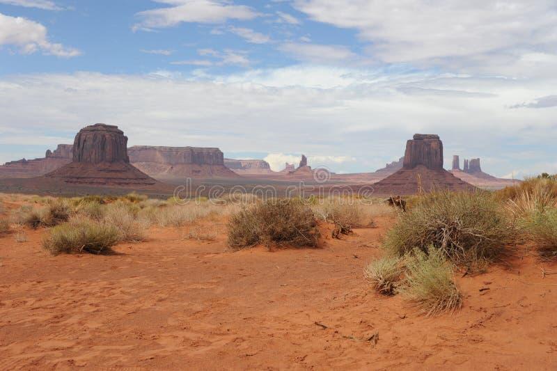 Pomnikowa dolina zdjęcia stock
