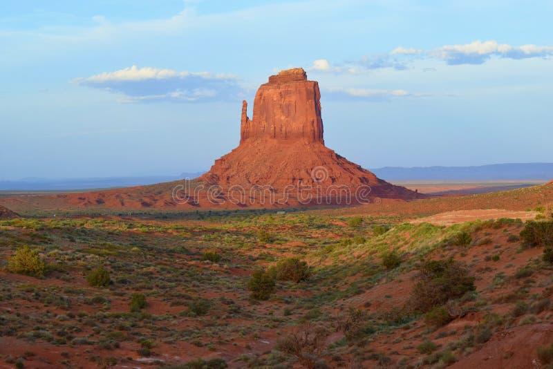 Pomnikowa dolina, Navajo Plemienny park, usa fotografia stock