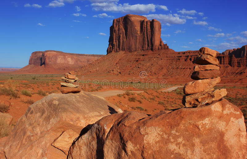 Pomnikowa Dolina, USA fotografia stock