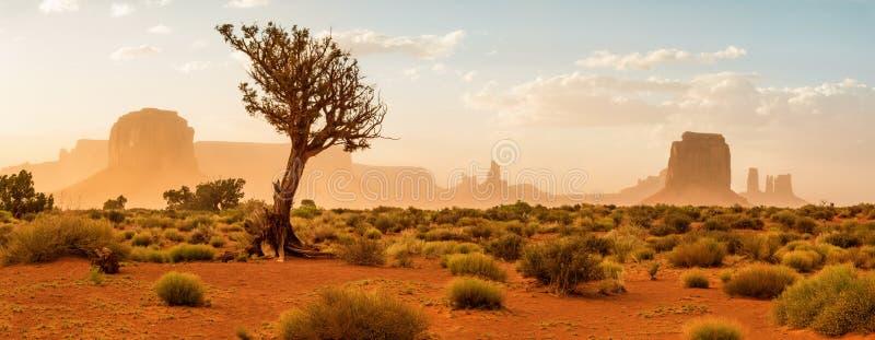 Pomnikowa Dolina, USA obrazy royalty free