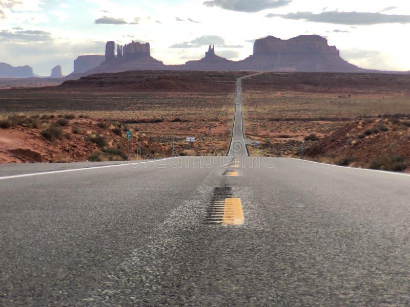 pomnikowa valley road zdjęcie stock