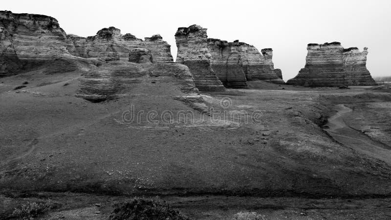 Pomnikowe skały obrazy stock