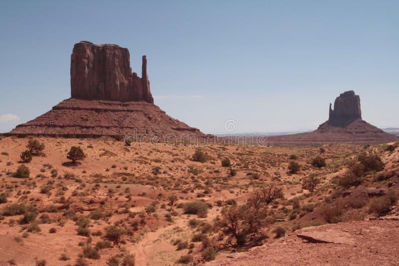 Pomnikowego Dolinnego Navajo Plemienny park, Arizona fotografia royalty free