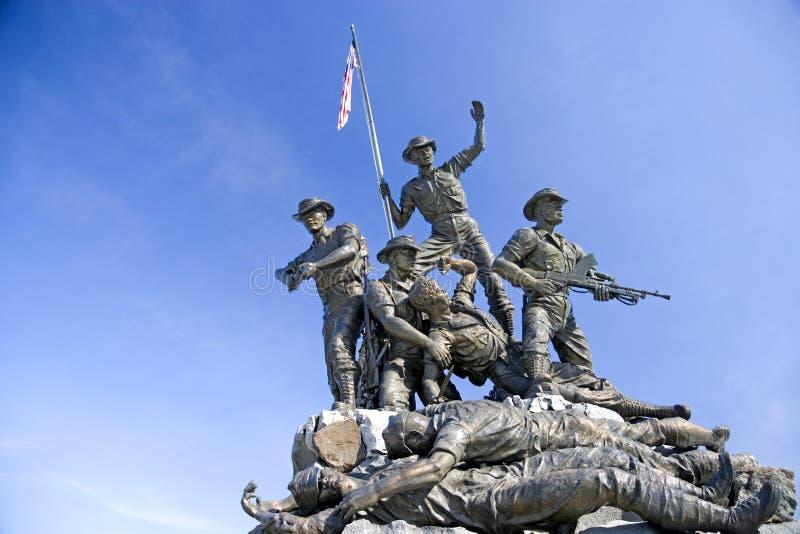 pomnikowi bohaterowie. zdjęcie royalty free