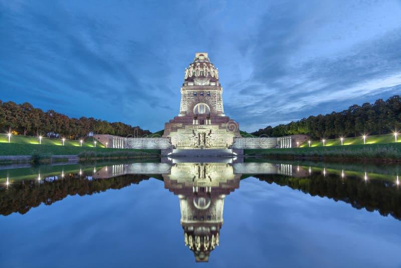 pomnikowi Leipzig batalistyczni narody fotografia royalty free