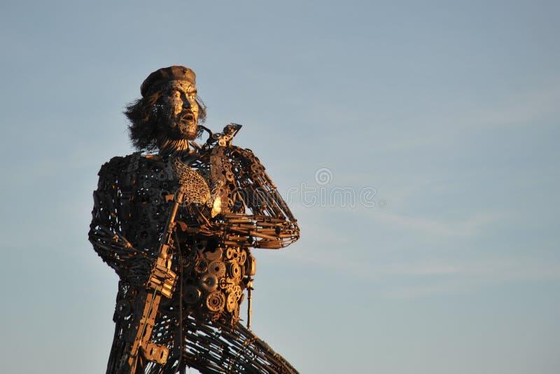 Pomnikowy Ernesto che Guevara w losie angeles Paz zdjęcia royalty free