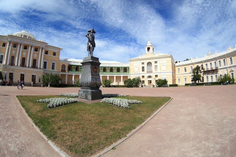 pomnikowy pałac Paul Pavlovsk s zdjęcia royalty free