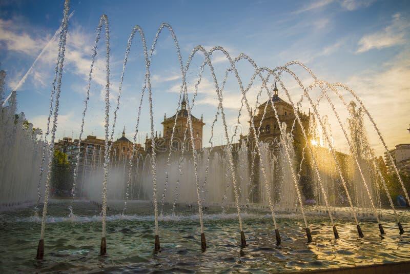 Pomnikowy Valladolid obraz royalty free