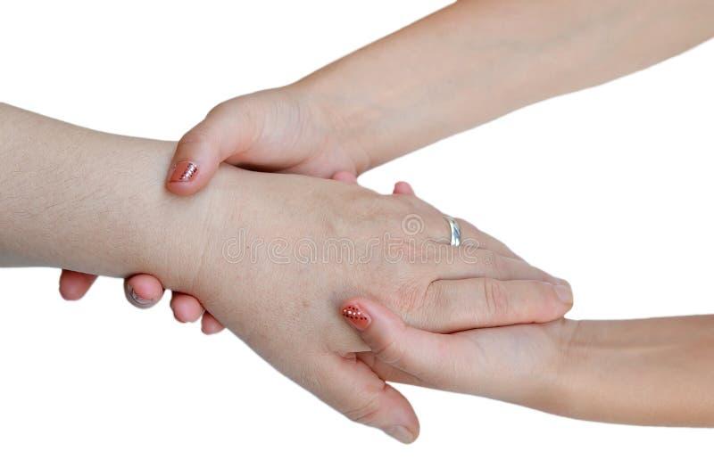 Pomocne dłonie obrazy stock