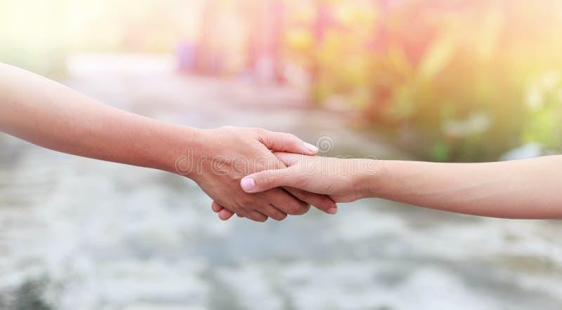 Pomocnej dłoni pojęcie obrazy royalty free