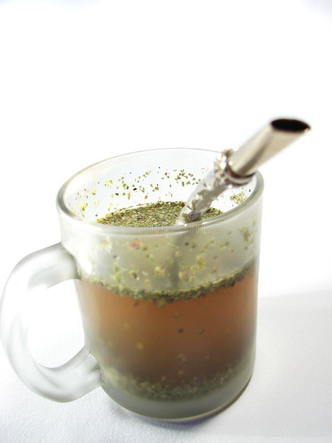 pomocniczy kubek herbaty partnera zdjęcia royalty free
