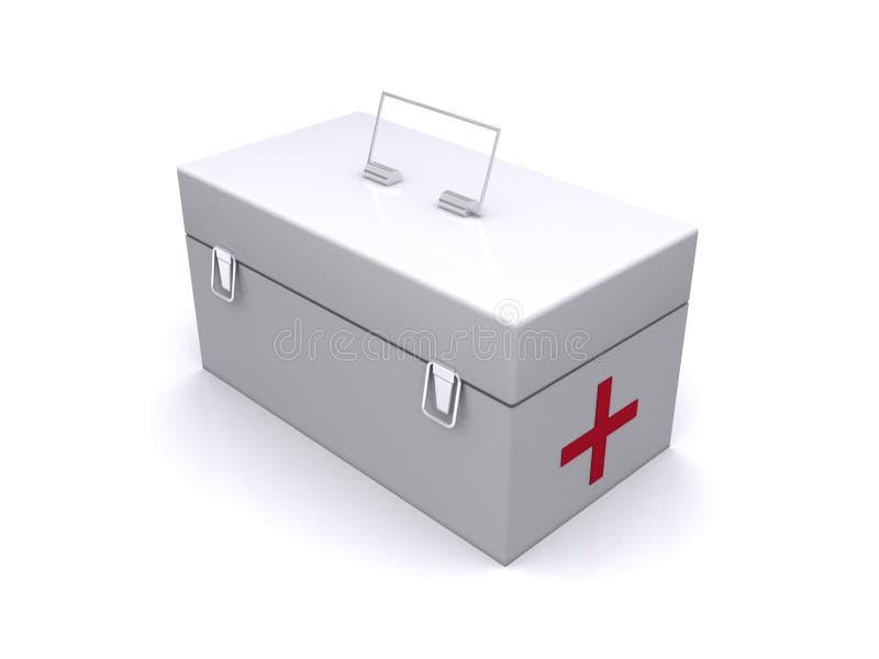 pomocy pudełko pierwszy ilustracja wektor