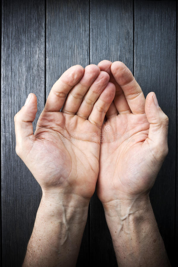 Pomocy ręk opieki miłość zdjęcia stock