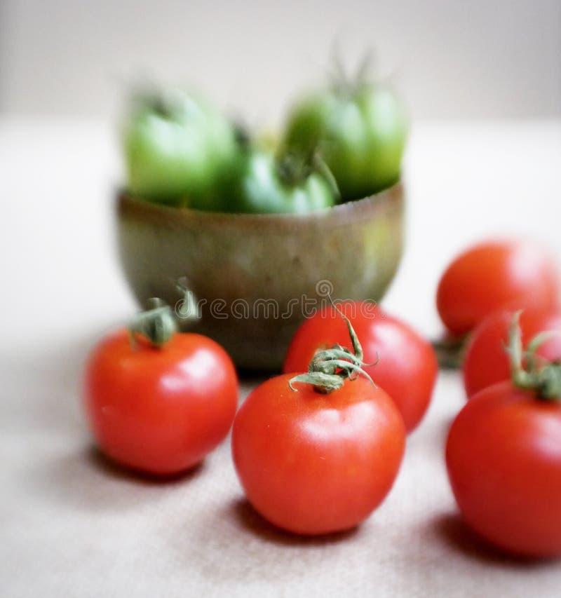 Pomodori di natura morta immagini stock libere da diritti