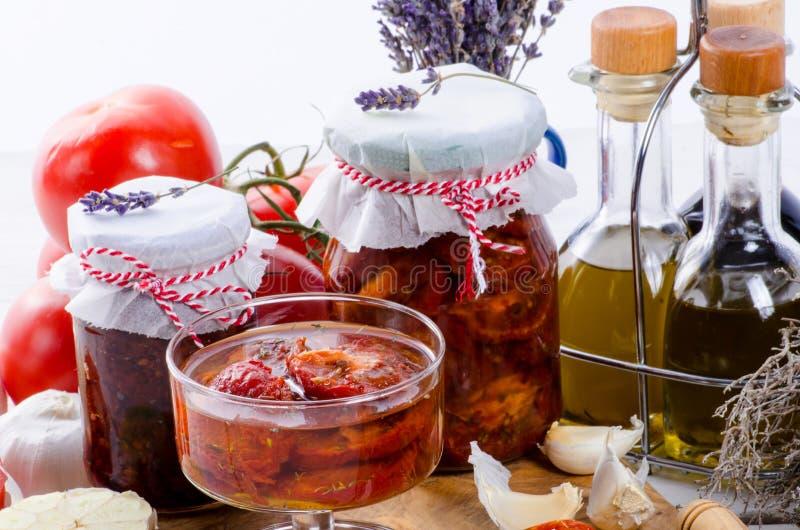 Pomodori secchi immagine stock libera da diritti