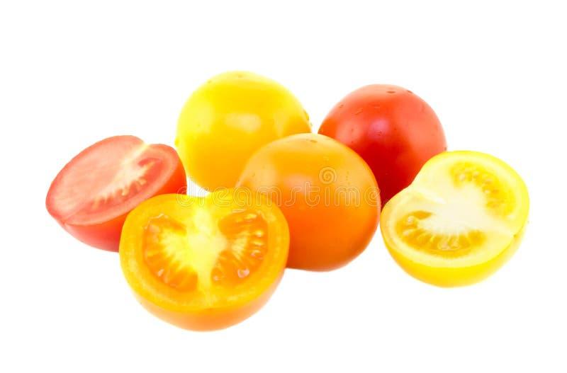 Pomodori variopinti della vite fotografia stock libera da diritti