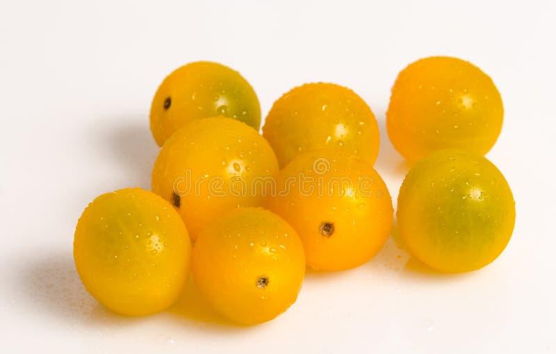 Pomodoro ciliegia fresco immagini stock