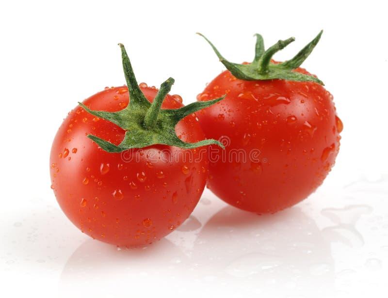 Pomodoro ciliegia fresco fotografia stock