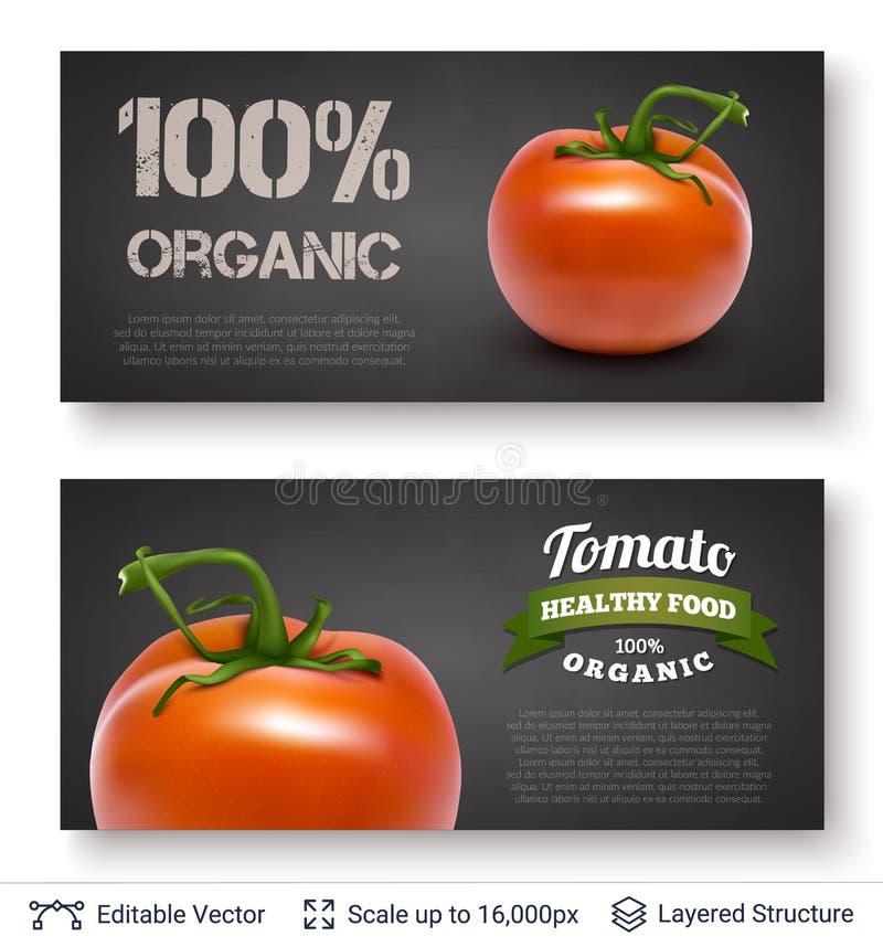 Pomodoro e testo royalty illustrazione gratis