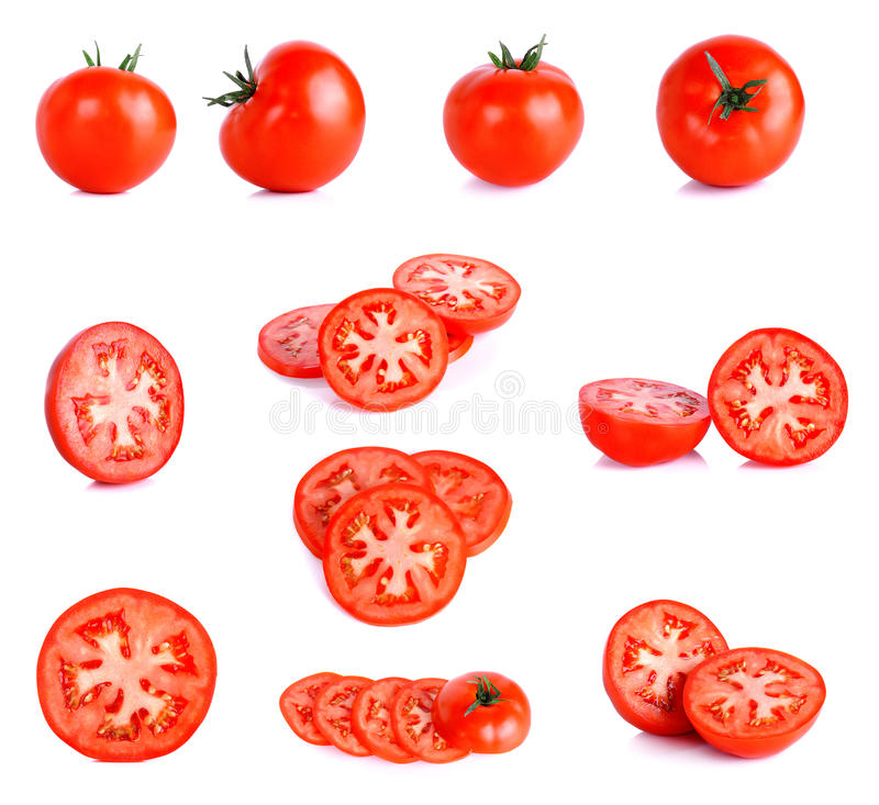 Download Pomodoro Rosso Isolato Sui Precedenti Bianchi Fotografia Stock - Immagine di accumulazione, gruppo: 55360466