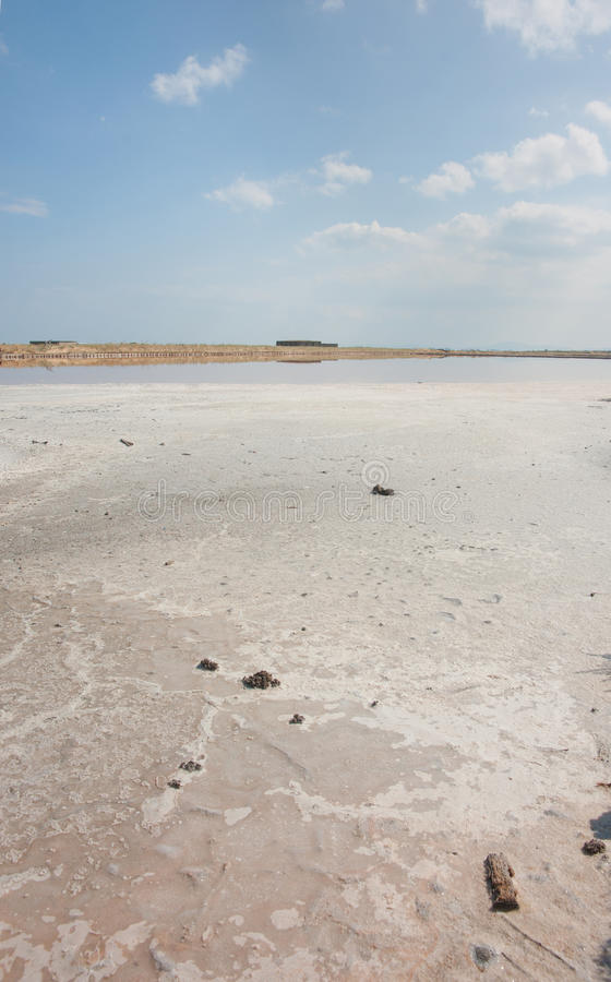 Pomorian sun salt, Bulgaria royalty free stock image