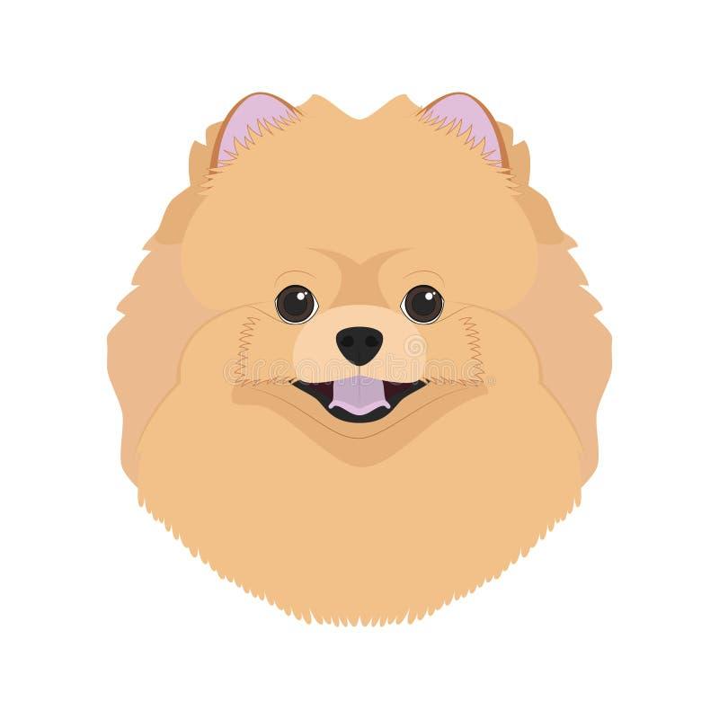 Pomorzanki psia wektorowa ilustracja ilustracji