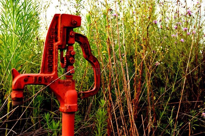 Pompa ad acqua fotografie stock
