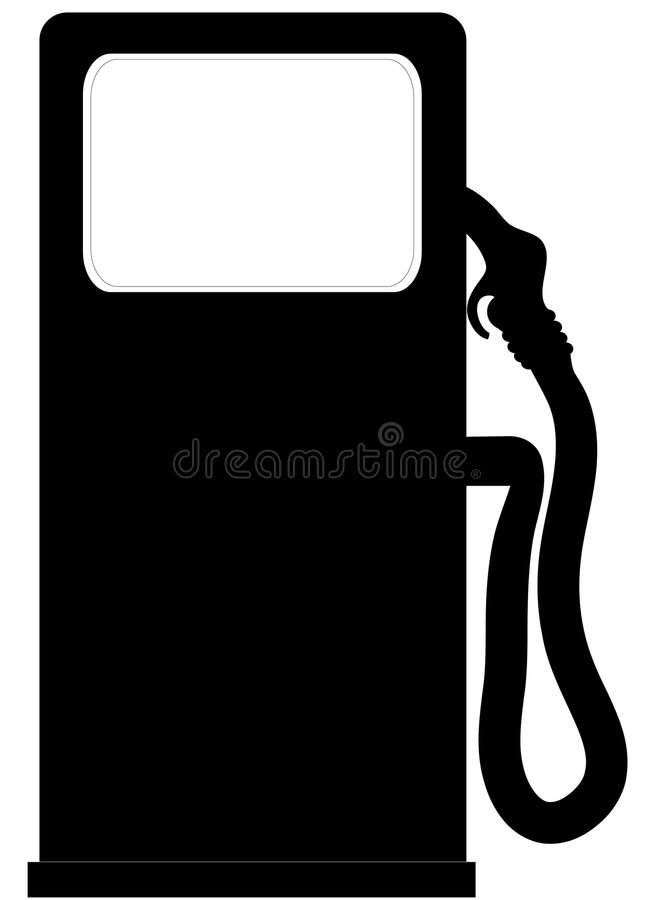 pompa benzynowa ilustracja wektor