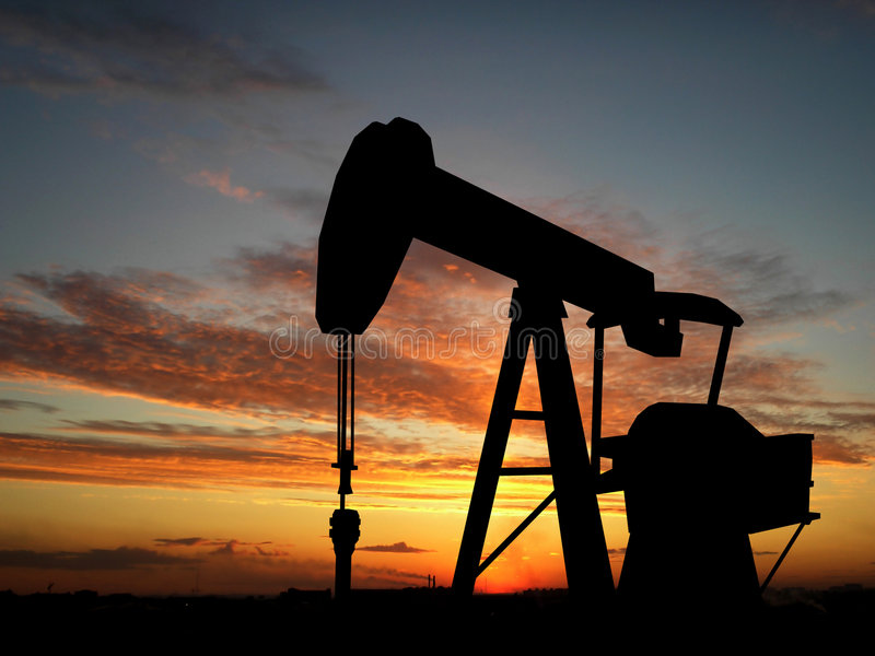 Pompa della benzina immagini stock libere da diritti