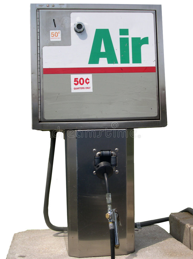 Pompa di aria fotografie stock libere da diritti
