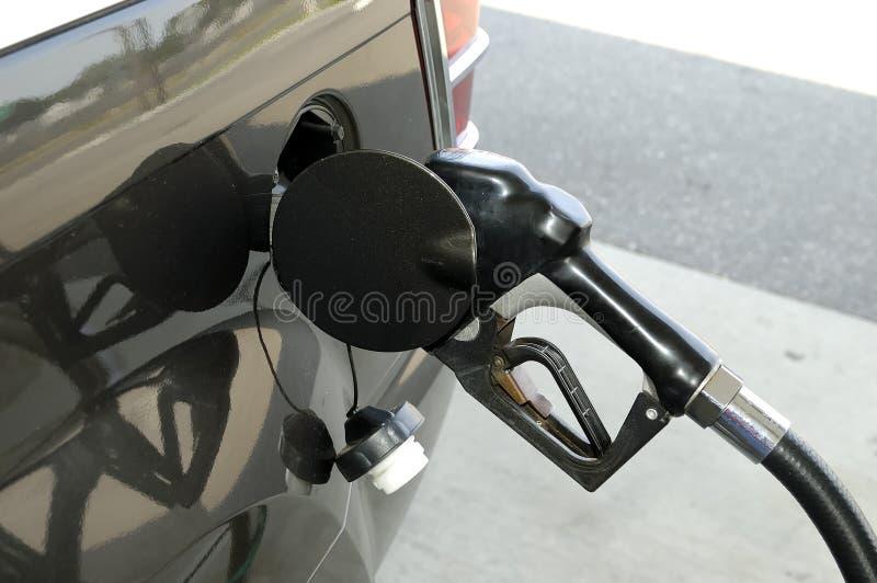 Pompa di gas fotografia stock