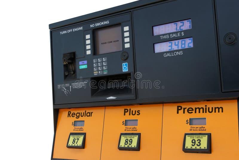 Download Pompa di gas immagine stock. Immagine di ustione, corsa - 450063