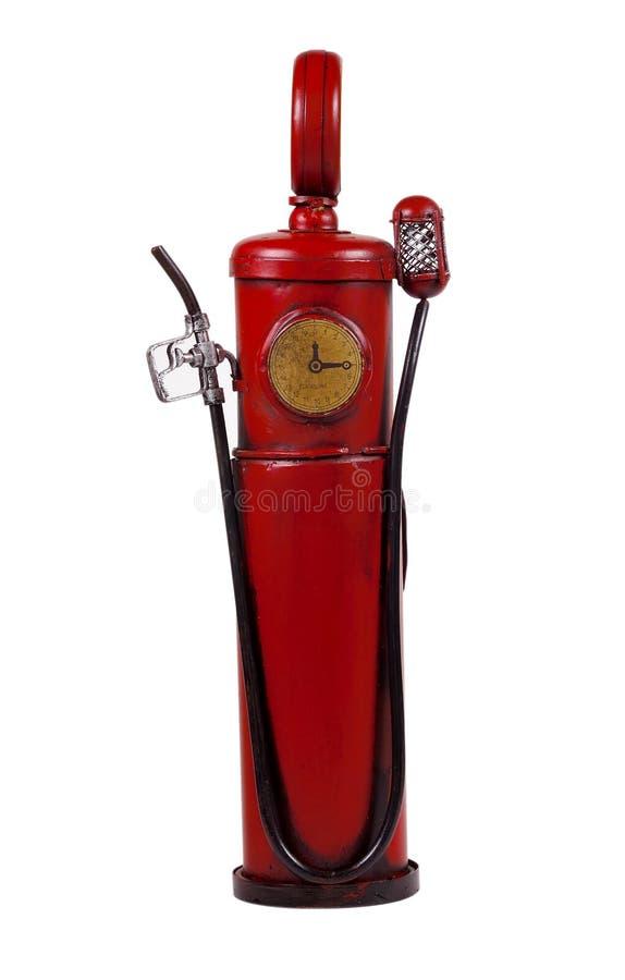 Pompa di gas dell'annata immagine stock libera da diritti
