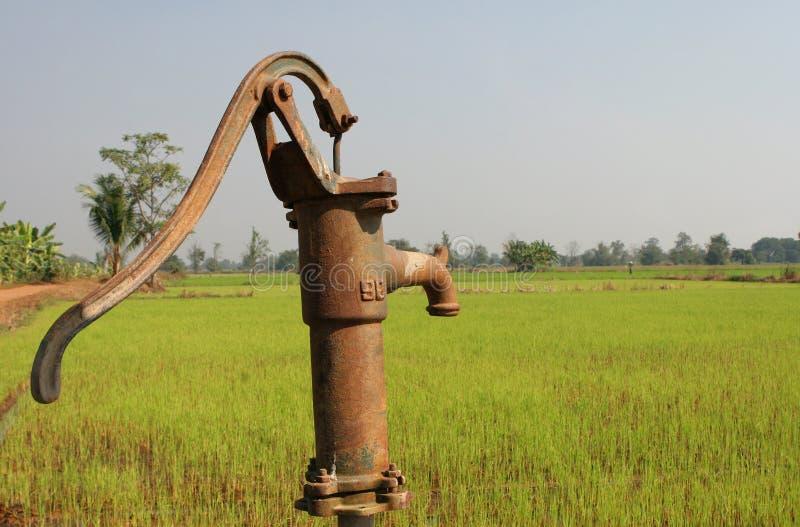 Pompa di irrigazione immagini stock