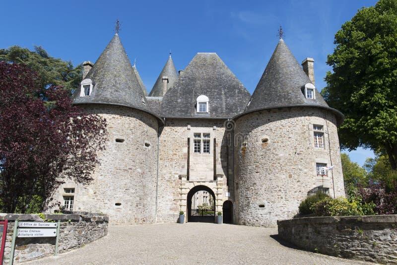Pompadour do castelo em França fotos de stock royalty free