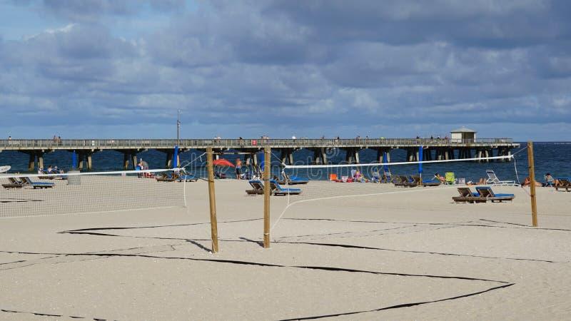 Pompano Beach in Florida. USA stock image