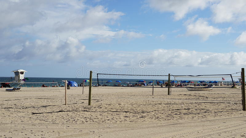 Pompano Beach in Florida. USA royalty free stock image