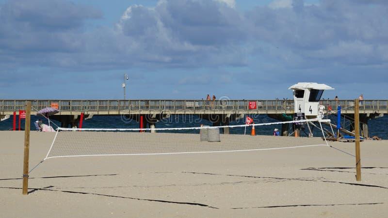 Pompano Beach in Florida. USA royalty free stock photo