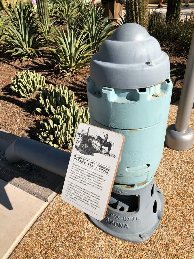 Pompe à eau électrique photos libres de droits