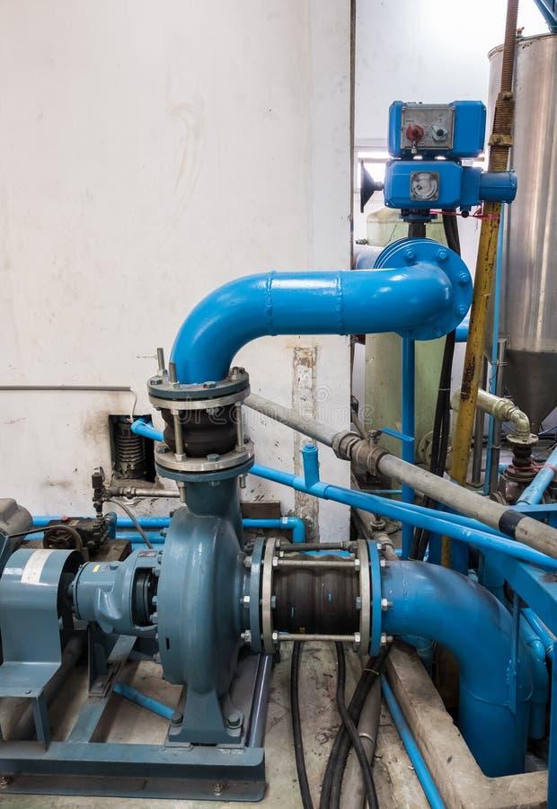 Pompe à eau centrifuge images libres de droits