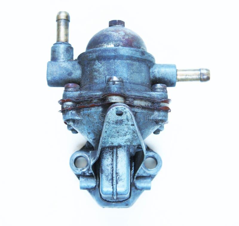 Pompe à essence d'automobile photo libre de droits