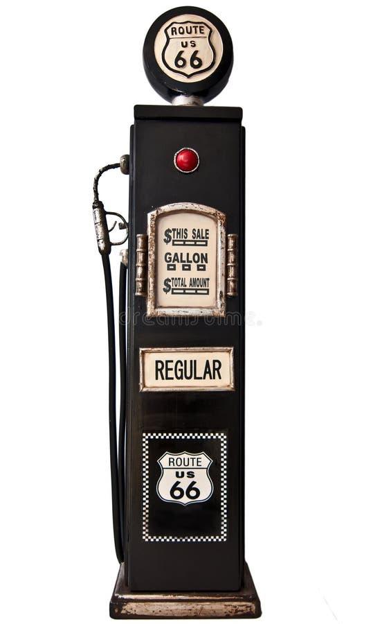 Pompe à essence de l'artère 66 photographie stock libre de droits