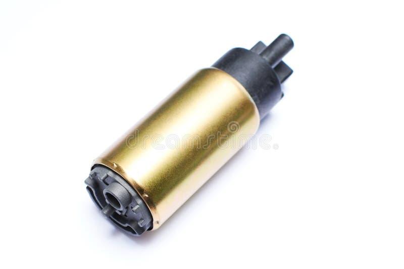 Pompe à essence pour la voiture d'isolement images libres de droits