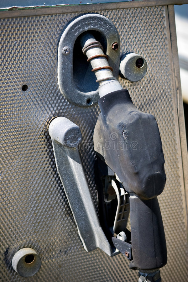 Pompe à gaz photo stock