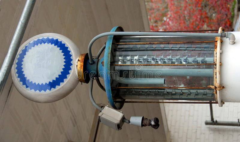 Pompe à gaz de cru images libres de droits