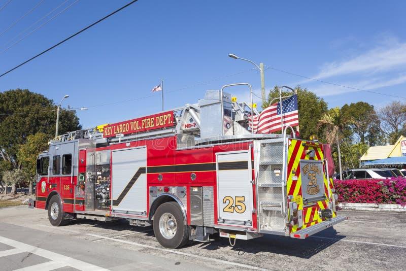 Pompe à incendie en Floride photographie stock