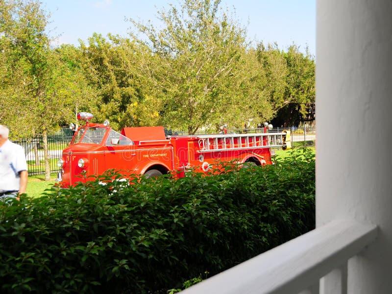 Pompe à incendie, la Floride photo libre de droits