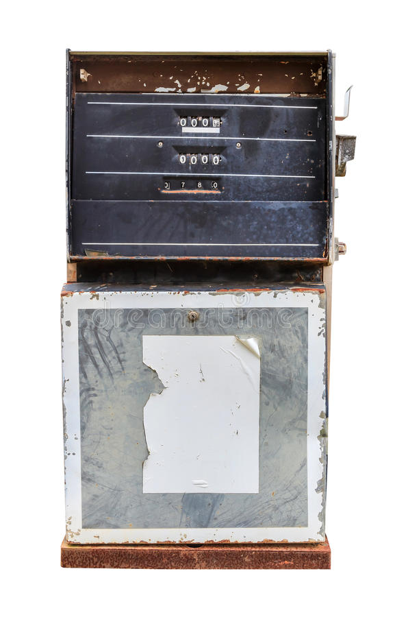 Pompe d'essence image libre de droits
