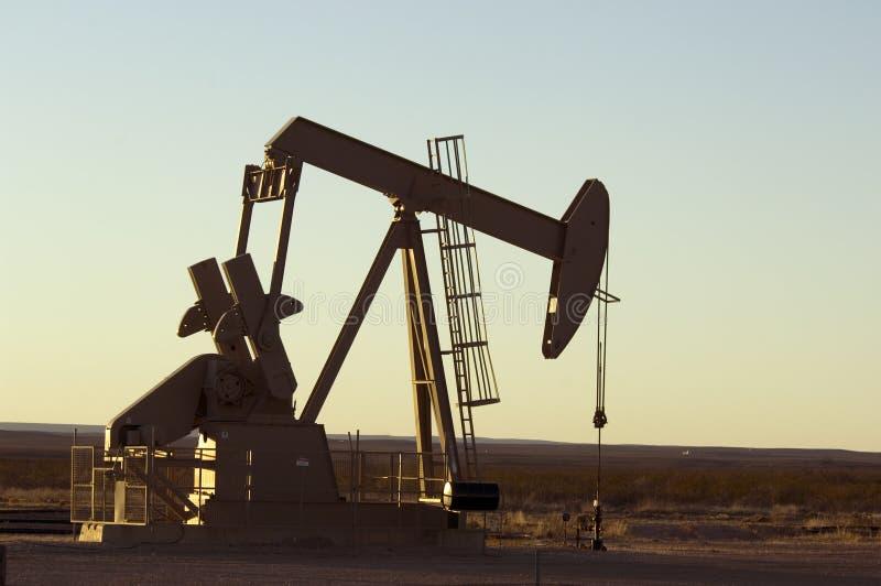 Pompe de pétrole photo libre de droits